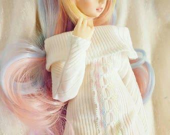 MNF White off shoulder minidress for minifee (slim msd)