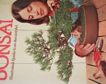 Bonsai Vintage Craft Book 1978 Vintage Bonsai illustrated to ancient art vintage gardening book  vintage craft book