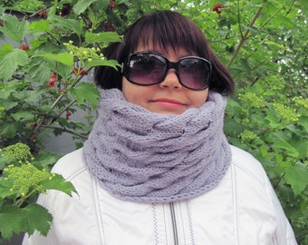 Womens-clothing-Knitting-Accessories-women-Gifts-women-friends-Winter fashion-tube scarf-Wool knit-scarves-Wool knitting- Christmas-gift