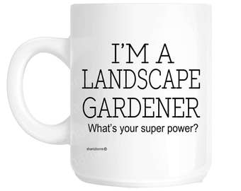landscape Gardener Gift Mug shan1159