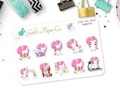 Unicorn Sampler Mini Planner Stickers {2180 Uni Mini Sampler}