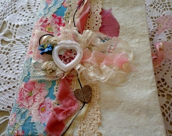 21 x 15 cm photo album Scrapbook Shabby made entirely by hand
