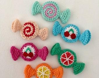 Crochet Sweets/ Crochet Candies/ Crochet Food/ Play Food/ Pretend Play/ Amigurumi Food
