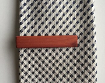 Western Red Cedar Tie Clip - wood tie clip - tie clip - Anniversary gift - gifts for him - mens fashion - groomsmen gift