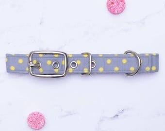 Polka Dot Dog Collar