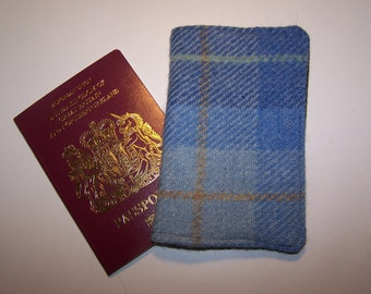 Harris tweed wallet etsy for Birthday gifts for travel lovers