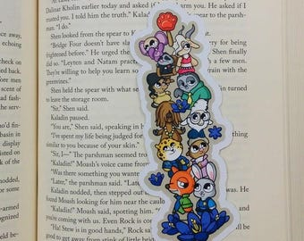 Zoobits Traditional Bookmark / BT315