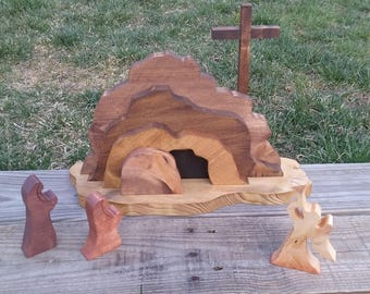 Easter Empty Tomb Scene , Empty Tomb Kit