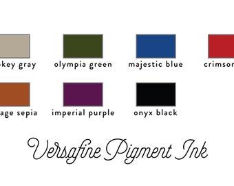 Versafine Pigment Ink Stamp Pad