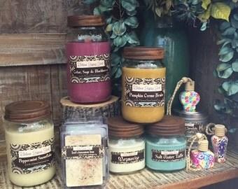 Urban Gypsy Girl natural soy candles