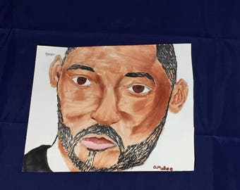 Will smith-marker on sketch paper