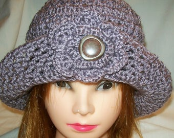 Crochet Summer Cloche
