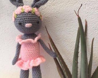 Doll rabbit ballerina Charlotte