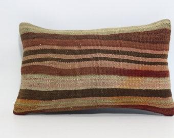 12x20 turkish striped kilim pillow 12x20 decorative kilim pillow thrwo pillow ethnic pillow bohemian pillow cushion cover SP3050-731