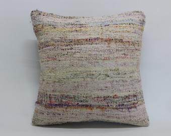 turkish kilim pillow 20x20 kilim pillow sofa pillow anatolian turkish decorative kilim pillow one colour kilim pillow SP5050-1148