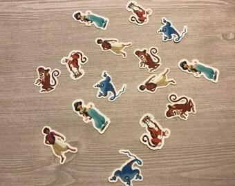 Aladdin Confetti ( 100 pieces)/Jasmine Confetti