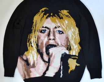 Iggy Pop / The Stooges handmade sweater (XL)