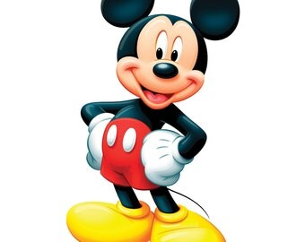 Mickey Mouse Iron On Transfer or Birthday