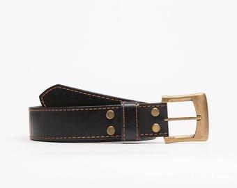 Handcrafted leather belt // Fillmor