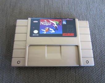 3 Ninjas Kick Back - Super Nintendo - Gold Cartridge