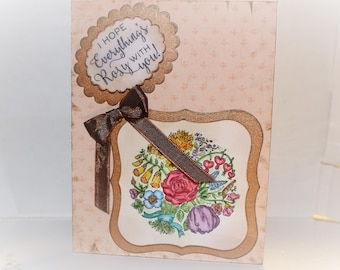 Greeting Card - Water Color