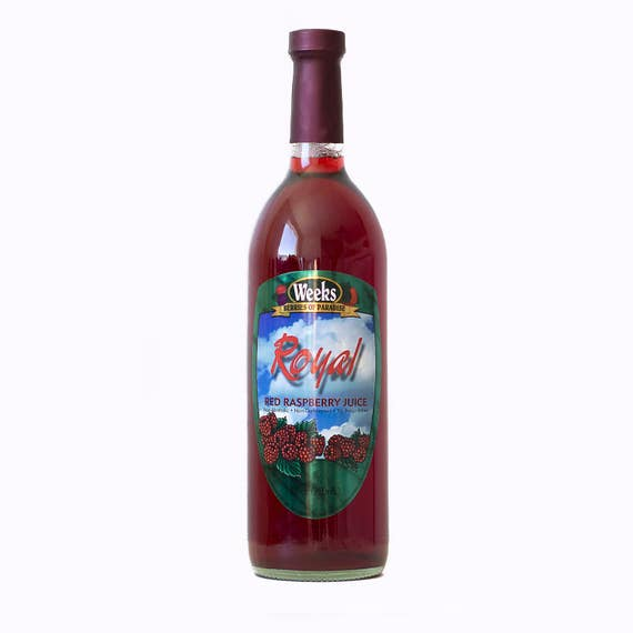 Red Raspberry Juice, No Preservatives, Non-Carbonated - Utah's Own