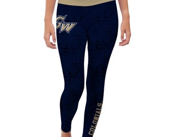 George Washington University Colonials Yoga Pants Designs