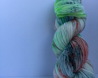 Candy girl hand dyed yarn 100% super soft merino wool sport weight