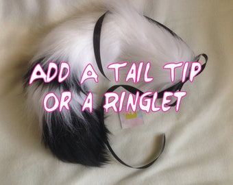 Add A Tip Or Ring To Your Tail