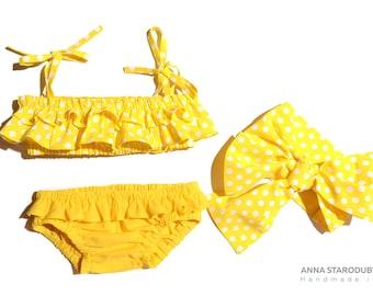 Baby swimsuit, Girls swimsuit, Baby girl swimsuit, Baby girl swimwear, Toddler Swimsuit, Baby bikini, Toddler bikini
