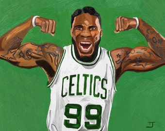 Jae Crowder painting