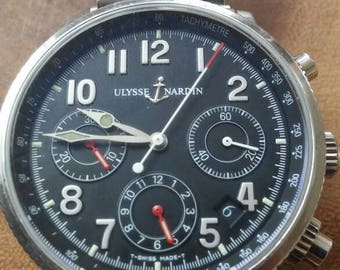 Ulysse Nardin marine chronograph,18 gold medals