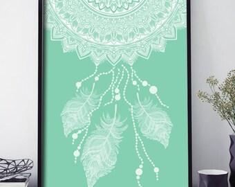mandala, mandalas, mandala print, mandala art, digital mandala, mandala images, print art, mandala pictures, mandala wall hanging, blue