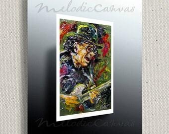 Carlos Santana  (PRINT)