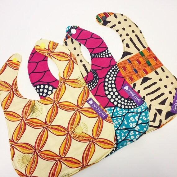 african print bib infant bibs fleece bibs for baby. Black Bedroom Furniture Sets. Home Design Ideas