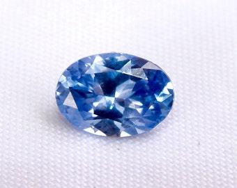 Ceylon Natural Blue Sapphire Oval Shape 7.2mm