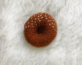 Hand knit donut