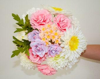 Vogue - Paper Flower Bouquet - Wedding Bouquet