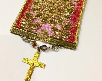 The Rosary Vintage Bookmark