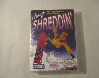 Heavy Shreddin'   Custom NES - Nintendo Case (No Game)