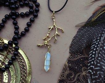 opal branch-pendant