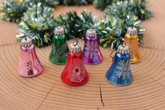 Antique vintage christmas bells tree ornaments
