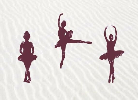 Ballerina Svg File Dancer Svg Sport Svg Gymnastic Svg