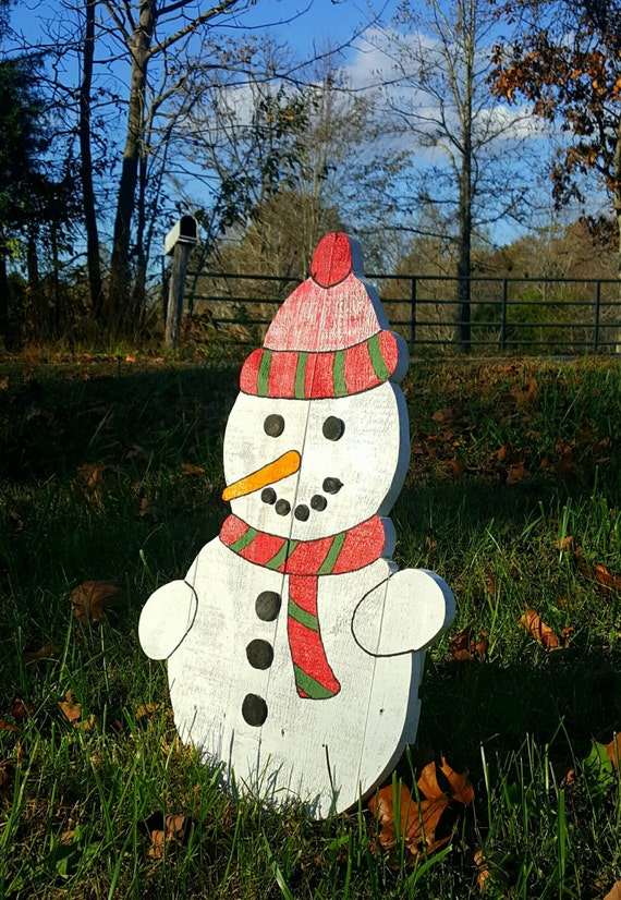 Outdoor Snowman Christmas Decorations Rainforest Islands Ferry