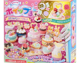 "Whipple Fake Sweets Making Kit,""Whipple colorful Deco Sweets set""[B01ANC0T2I]"