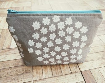 Handmade Patterned Cosmetic Bags