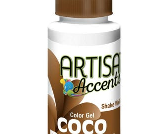 Coco Brown Artisan Accents Professional Color 2 oz.