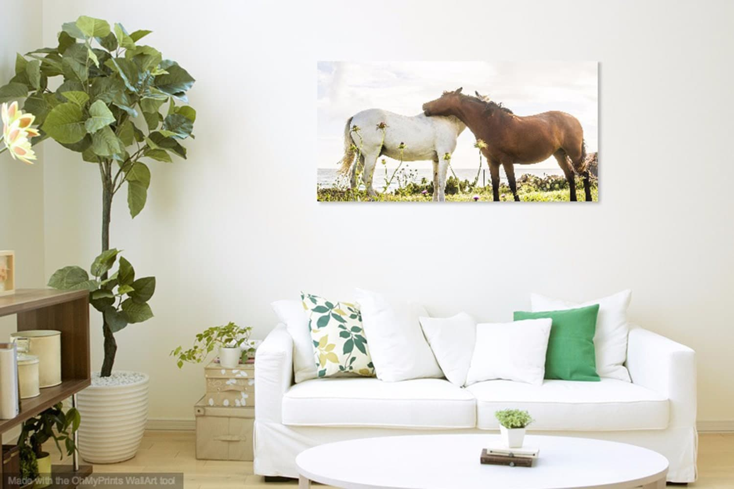 togetherness horses print horse photography spain travel