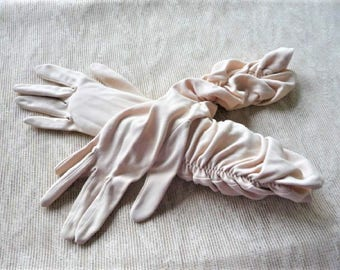Fancy Gloves ...  Two Pairs  **  Vintage Fashion , Costume --  Myers Make 6.5