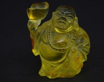Genuine Amber Buddha 22,6 g., Amber, Real Baltic Amber, Baltic Amber, Buddha, Buddha Amber, Amber Buddha Statuette, Buddhism, Amber Products
